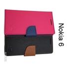 【My Style】撞色皮套 Nokia 6 (5.5吋)