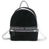 【南紡購物中心】MICHAEL KORS KENLY大LOGO尼龍後背包-中/黑