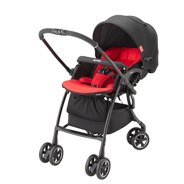 【愛吾兒】Aprica LUXUNA Comfort 四輪自動定位嬰兒車-星光大道