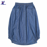 【秋冬降價款】American Bluedeer - 側斜邊抽皺裙 秋冬新款