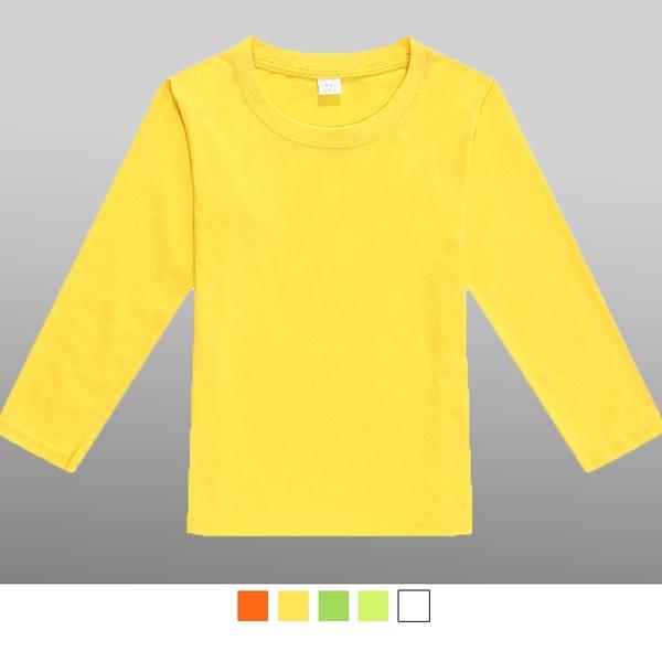 【晶輝團服制服】LS-1080*兒童純棉圓領長袖T恤