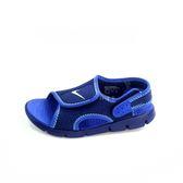 中童NIKE SUNRAY ADJUST 4 (PS) 輕量運動涼鞋 《7+1童鞋》 D896 藍色