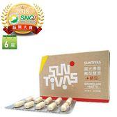 【陽光康喜】 鳳梨酵素+納豆6盒循環組