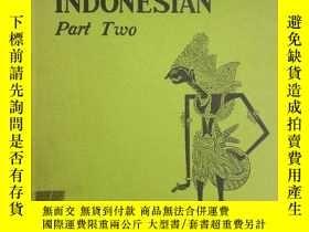 二手書博民逛書店印度尼西亞語原版罕見初級課本(第二部分)BEGINNING IN