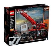 【南紡購物中心】【LEGO 樂高積木】科技 Technic 系列 - 曠野地形起重機(4057pcs) LT-42082