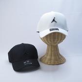 NIKE JORDAN CLC99 CAP METAL JM 老帽 後可調 CW6410- 黑 / 白【iSport】