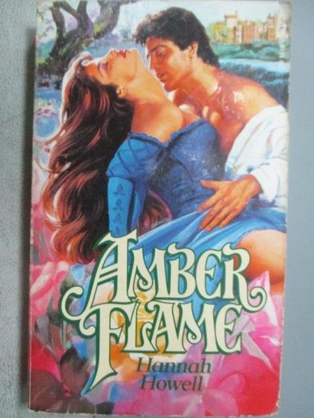 【書寶二手書T8/原文小說_FP2】Amber Flame_Hannah Howell