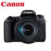 [EYEDC] Canon EOS 77D 18-135mm IS USM 彩虹公司貨 (一次付清) 回函送郵政禮卷$3000元+減壓背帶(12/31)