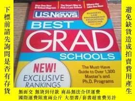 二手書博民逛書店U.S.News罕見WORLD REPORT BEST GRAD SCHOOLS 2015[英文原版]Y217