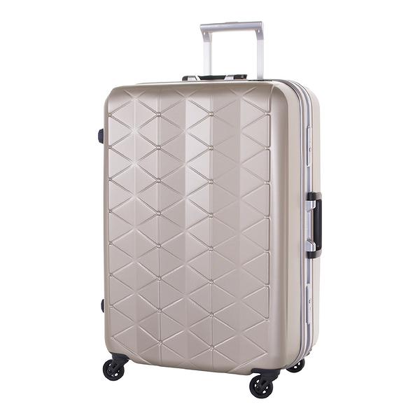 SUNCO 25吋 極輕鎂合金框 霧面防刮設計 旅行箱/行李箱-香檳金