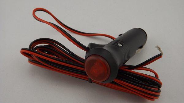 「炫光LED」點菸器開關 LED接頭 點菸器開關 快速接線  開關線 LED開關 開關顯示燈 車內改裝