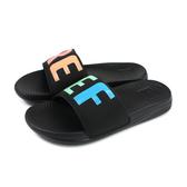 reef 拖鞋 一字拖 黑色 彩色字體 女鞋 RF0A3YN7RA no357