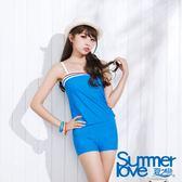 【SUMMERLOVE夏之戀】愛琴海風二件式泳衣-S15741