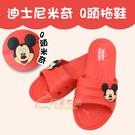 【雨眾不同】迪士尼 米奇 居家拖鞋 室內拖鞋-米奇Q頭