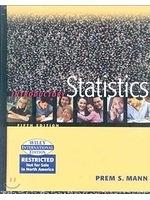 二手書博民逛書店 《Introductory Statistics》 R2Y ISBN:047145351X│PremS.Mann