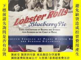 二手書博民逛書店Lobster罕見Rolls and Blueberry Pie