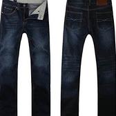 牛仔長褲-有型透氣精梳棉男休閒褲6色6t3[巴黎精品]
