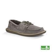 SANUK  水洗復古綁帶休閒鞋-男款1015963 WBND(鐵灰色)
