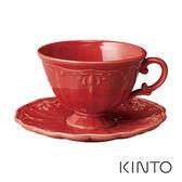 日本KINTO COURONNE杯盤組-紅