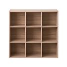 書櫃 收納櫃 置物櫃【收納屋】堆疊九格櫃...