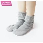 襪子 睡覺加絨襪子男女通用女 睡眠襪秋天空調房寬鬆棉質護腳襪套保暖 歐歐