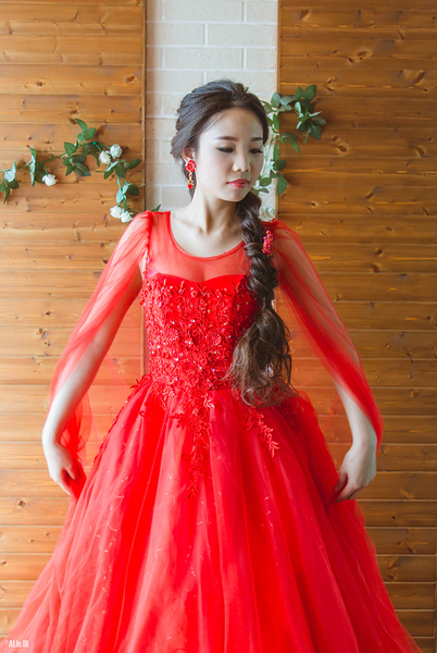 (45 Design) 晚裝禮服 胖媽媽裝 訂婚喜慶 旗袍禮服 大尺寸袍禮服