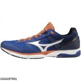 Mizuno Wave Emperor 3 [J1GA197601] 男 慢跑鞋 運動 輕量 路跑 皇速 避震 寬楦 藍