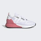 Adidas Zx 2k Boost W [G58090] 女鞋 運動 休閒 跑步 穿搭 緩震 舒適 白 粉紅