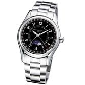 CONSTANT 康斯登/雙時區自動機械腕錶/FC-330B6B6B