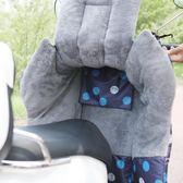 店長推薦電動摩托車擋風被冬季手套保暖小電瓶車防風罩分體加絨加厚自行車