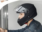 安馳機車頭盔男機車全覆式安全帽