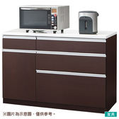 ◎廚房櫃台 CULY2 120CT DBR NITORI宜得利家居