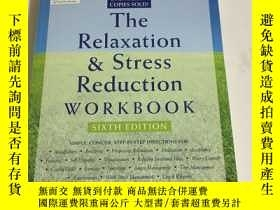 二手書博民逛書店The罕見Relaxation & Stress Reduction workbookY13534 Marth