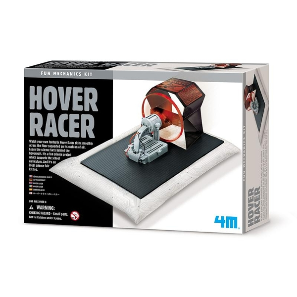 【4M】科學探索系列 漂浮氣墊船(新) Hover Racer 00-03366