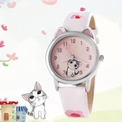 兒童手錶指針式女孩小萌貓私房貓韓版學生卡通可愛女童防水石英錶  極有家