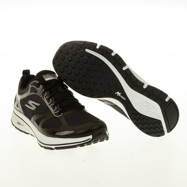 SKECHERS GORUN CONSISTENT 男鞋 健身 訓練 瑜珈鞋墊 支撐 避震 黑【運動世界】220035BKW