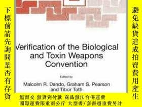 二手書博民逛書店Verification罕見of the Biological and Toxin Weapons Convent