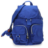 Kipling 經典Basic尼龍FireflyN雙口袋小型後背包(藍色)460140-122