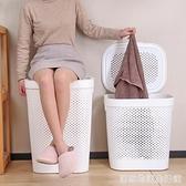 家用大號帶蓋髒衣籃浴室放髒衣服手提洗衣籃衣服玩具置物收納籃子 聖誕節全館免運