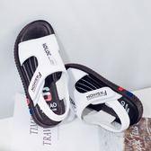 皮質童鞋2018夏季新款男童涼鞋兒童沙灘鞋軟底正韓男孩涼鞋【全館免運可批發】