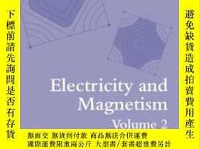 二手書博民逛書店Electricity罕見And Magnetism, Volu
