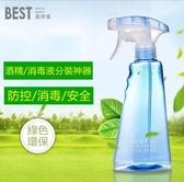 現貨-防疫從手開始 酒精噴壺瓶 350ml消毒水噴霧瓶 加厚手壓塑料瓶(三個裝)爾碩 雙11