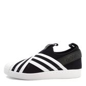Adidas Originals Superstar Slipon W [AC8582] 女鞋 運動 休閒 黑白 愛迪達