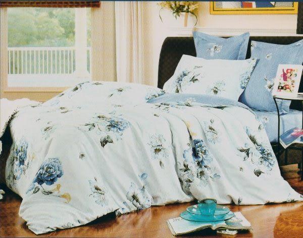 雙人特大6*7尺-台灣製造精品 POLO-795 精梳棉五件式床罩組