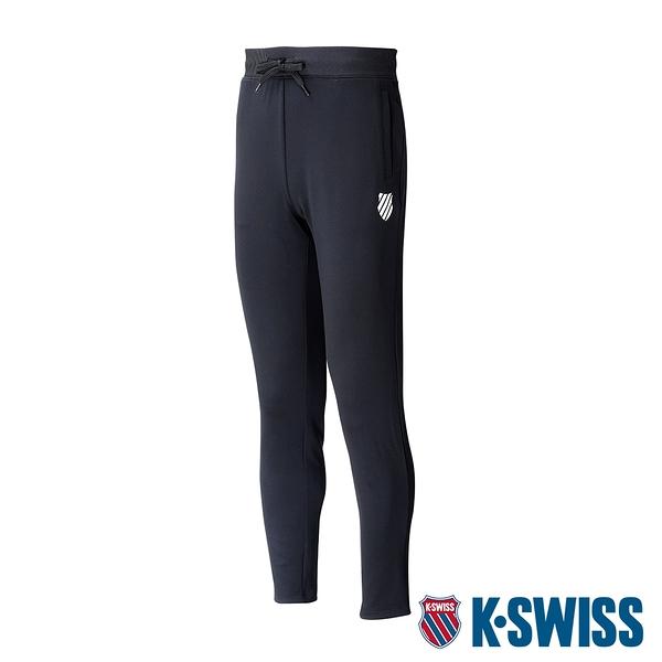 K-SWISS 5 Stripe Straight Pants運動長褲-女-黑