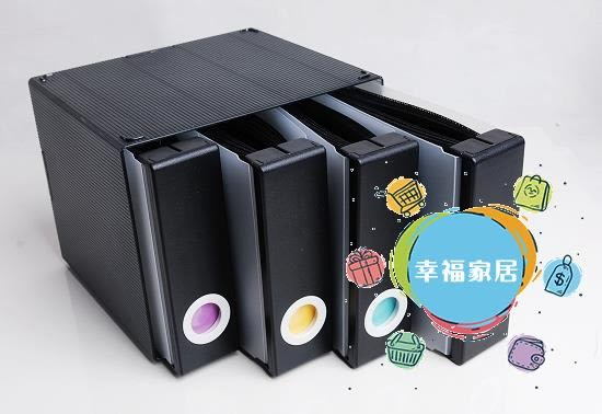 CD收納盒高檔CD盒香港家用大容量藍光碟片箱光盤盒兒童光碟收納盒便攜CD包