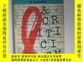 二手書博民逛書店Literature罕見and Criticism文學和批評Y12014 H. Coombes Penguin