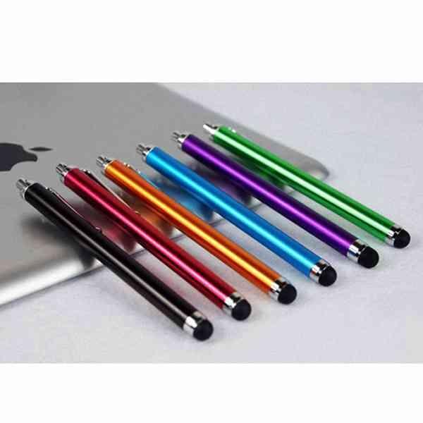 鋁合金 平板 智慧型 手機 電容式 長型 觸控筆 手寫筆 A8 S8 J7 Zenfone5 4 3 Note8 U11 Desire 『無名』 G12106