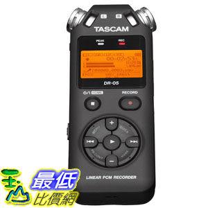 [103 美國直購] TASCAM DR-05 Portable 數字錄音機 Digital Recorder $4923