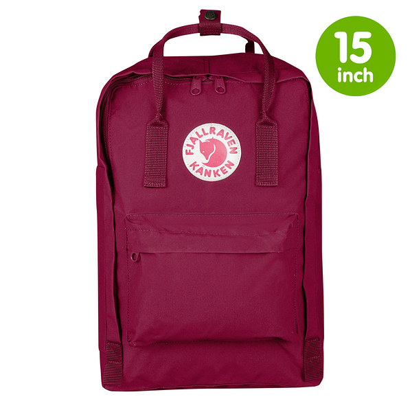 "【FJALL RAVEN瑞典小狐貍包 FR 15""】 Kanken laptop15吋電腦後背包 420 (紫紅)"